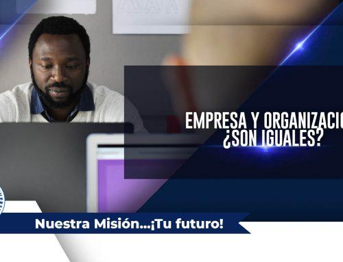 Empresa y Organización: ¿son iguales?